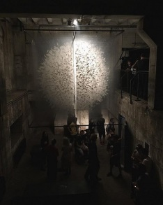 Art Instalation by David Spriggs 'Divided Power'