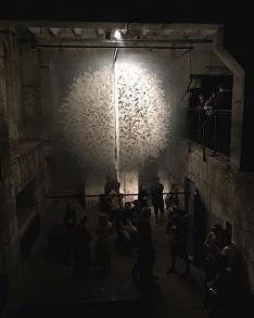 Art Instalation by David Spriggs 'Divided Power'