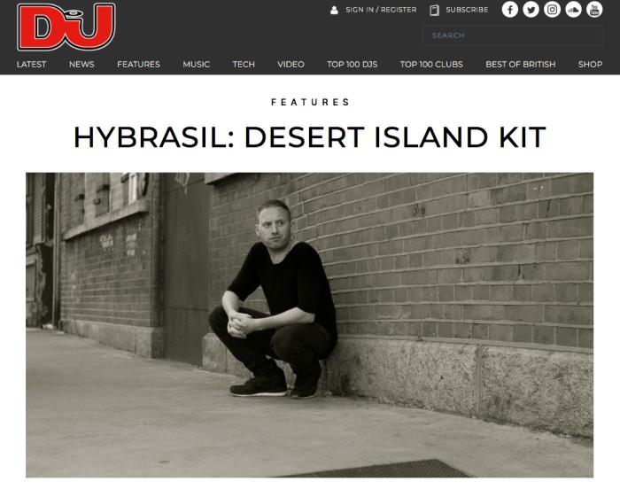 Hybrasil - desert island kit